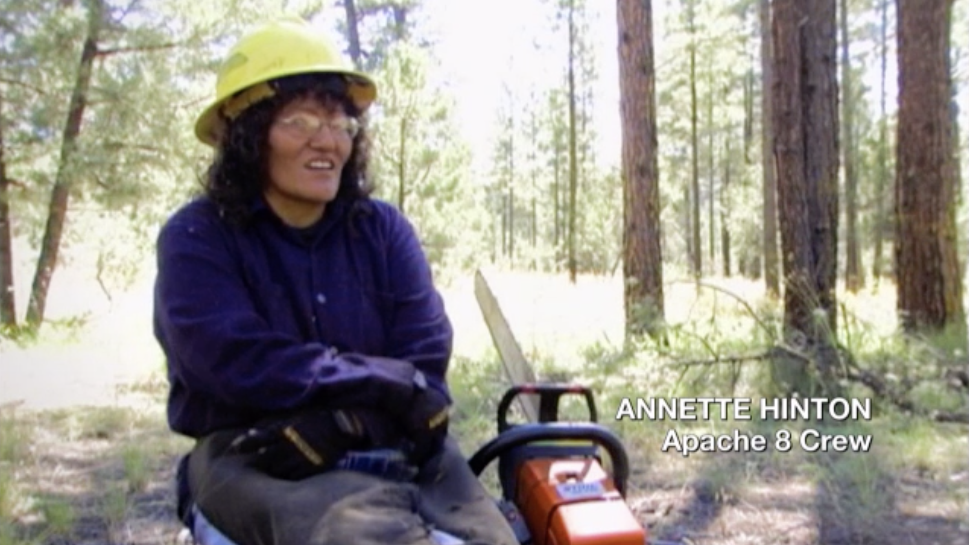 Annette Hinton, Apache 8 Crew, from Apache 8, https://americanarchive.org/catalog/cpb-aacip-508-125q815826.