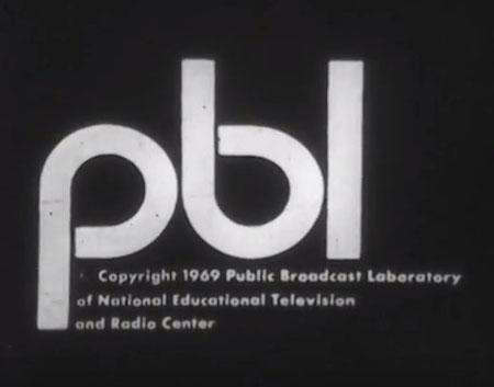 Public Broadcast Laboratory logo, 1969