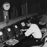 Early WGBH Control Room