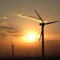 Wind Turbines (CC-BY-SA 3.0 Image by Fred J, userpage: commons.wikimedia.org/wiki/User:Fred_J