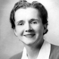 "Rachel Carson, ""Mother of the Environmental Movement"" Source: U.S. Fish and Wildlife Service"