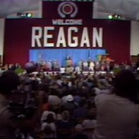 Reagan Campaigns in Louisiana