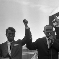 RFK and LBJ on the Campaign Trail