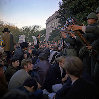 Anti-Vietnam Protest at Pentagon