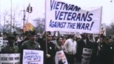 Image of 1967 Peace Protest in New York