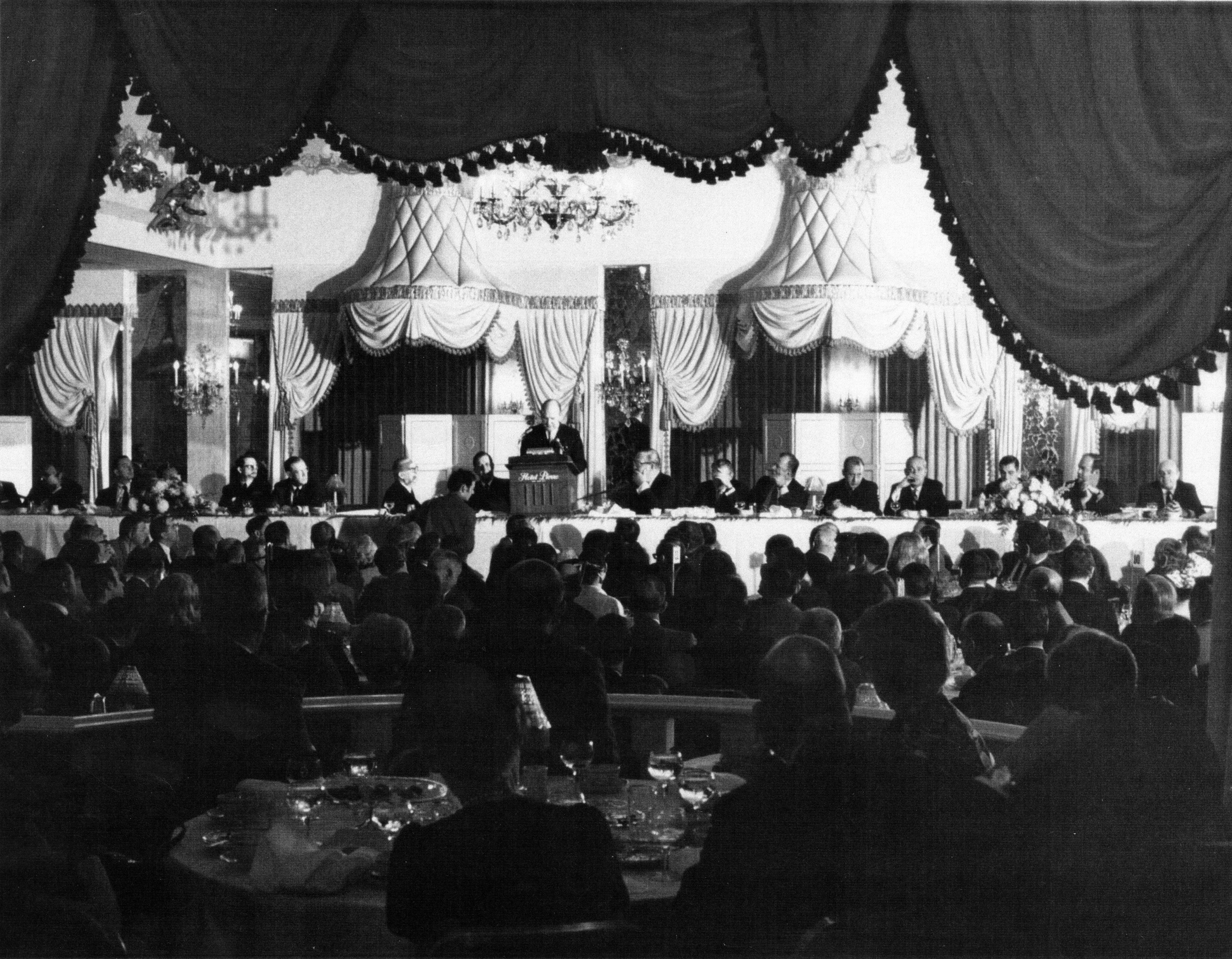 1941 Peabody Awards luncheon, George Foster Peabody Awards records, ms3000, Hargrett Rare Book and Manuscript Library, University of Georgia Libraries.