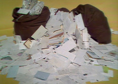 Pile of Letters Received by NPACT