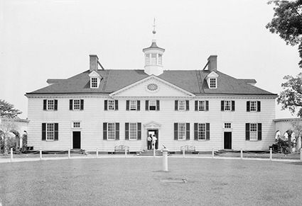 Historic American Buildings Survey. Mount Vernon, Mount Vernon Memorial Highway, Mount Vernon, Fairfax County, VA. Photograph. Retrieved from the Library of Congress.