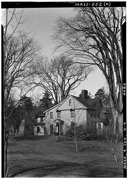 Detroit Publishing Co., Copyright Claimant, and Publisher Detroit Publishing Co.Orchard House, Concord, home of the Alcotts. Concord Massachusetts, ca. 1900. Photograph. Retrieved from the Library of Congress.