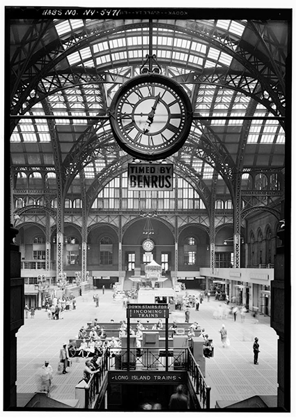 Historic American Buildings Survey, Creator. Pennsylvania Station, New York Terminal Service Plant, 250 West Thirty-first Street, New York County, NY. New York New York County, 1933. Documentation Compiled After. Photograph. Retrieved from the Library of Congress.