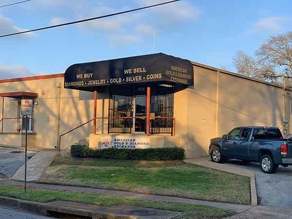 American Gold & Diamond Exchange Location Fleishel Location Tyler, Texas