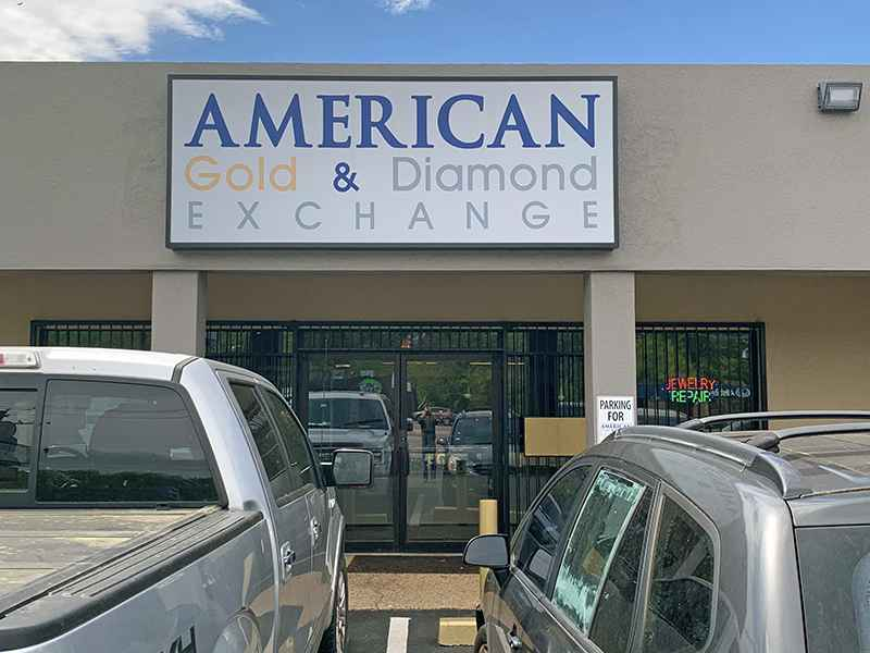 American Gold & Diamond Exchange Location Broadway Location Tyler, Texas