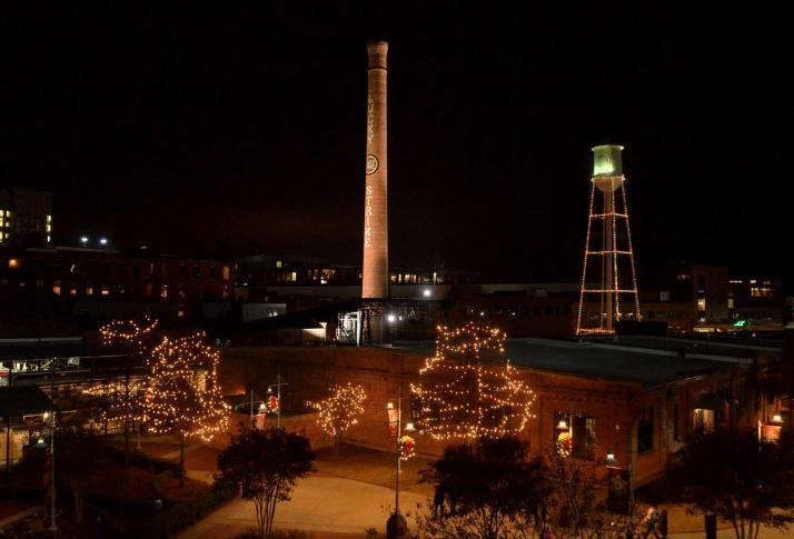 & Video -- 10th Annual American Tobacco Tower Lighting azcodes.com