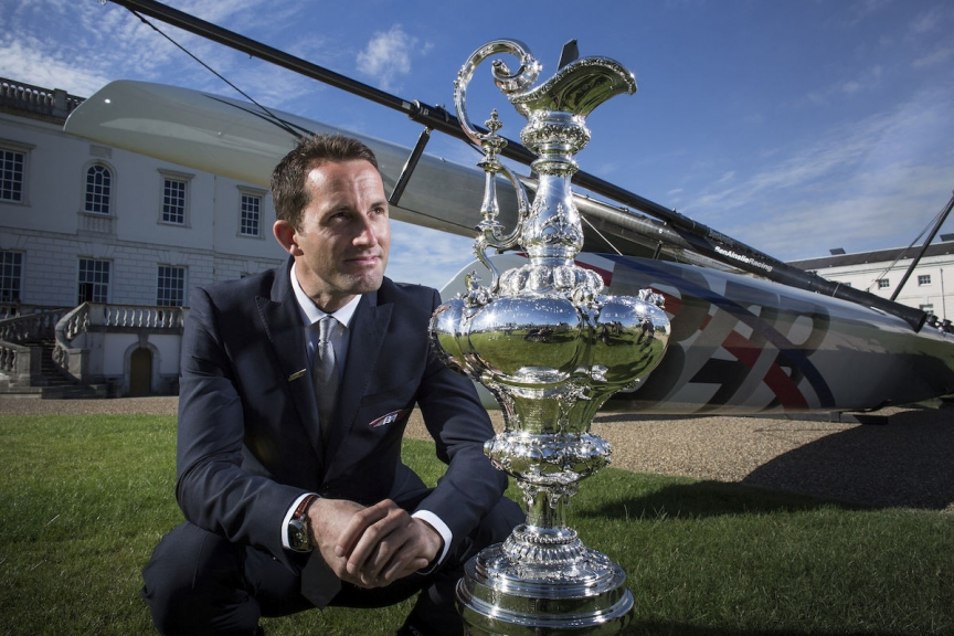 "Ben Ainslie extends invitation for ""Americas's Cup World Series"" Portsmouth"