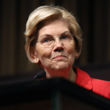 Democratic presidential candidate Elizabeth Warren speaks during the National Action Network Convention