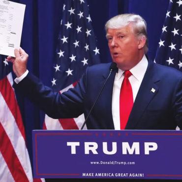 Washington, DC / USA - June 16 2015: Donald Trump's Presidential Announcement Speech - Image
