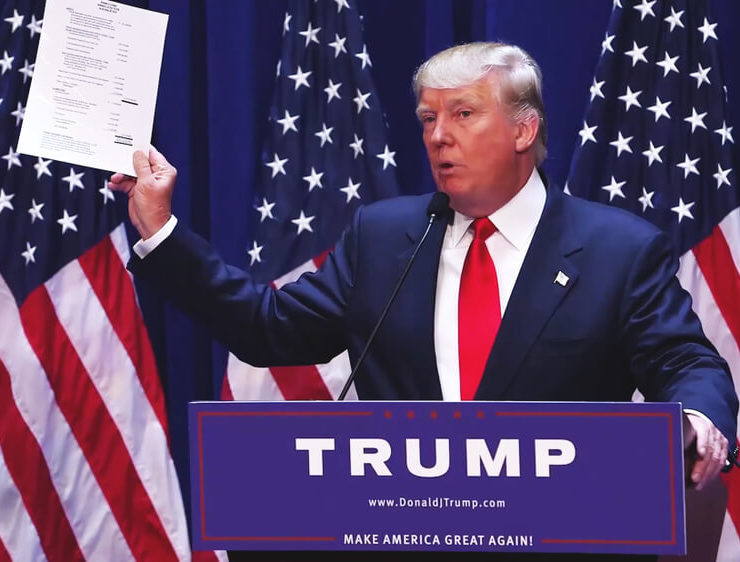Washington, DC / USA - June 16 2015: Donald Trump's Presidential Announcement Speech - Image