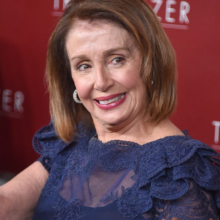 LOS ANGELES - FEB 20: Nancy Pelosi arrives for VH1's Trail Blazer Honors on February 20, 2019 in Hollywood, CA