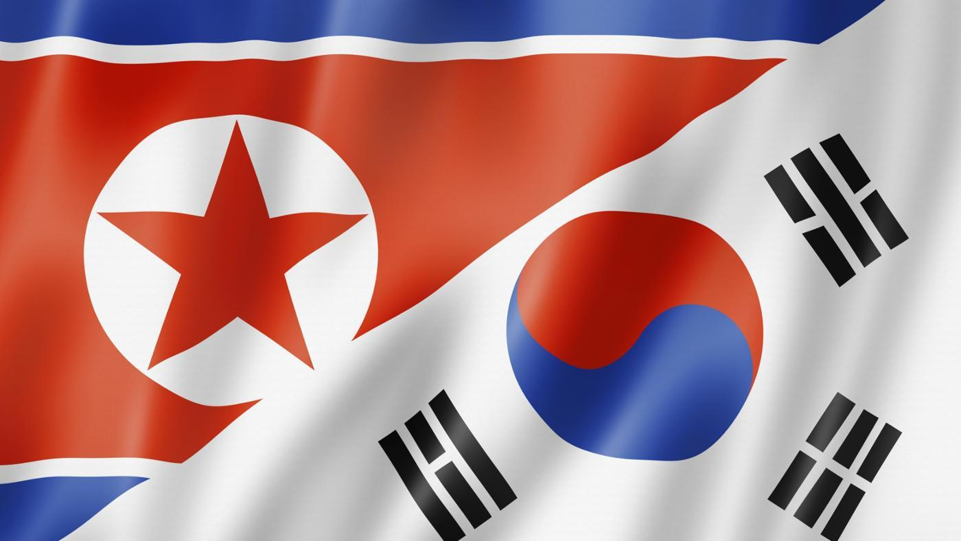 did-north-south-korea-split