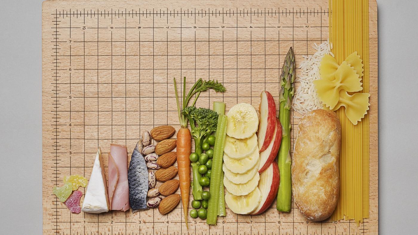 five-major-food-groups