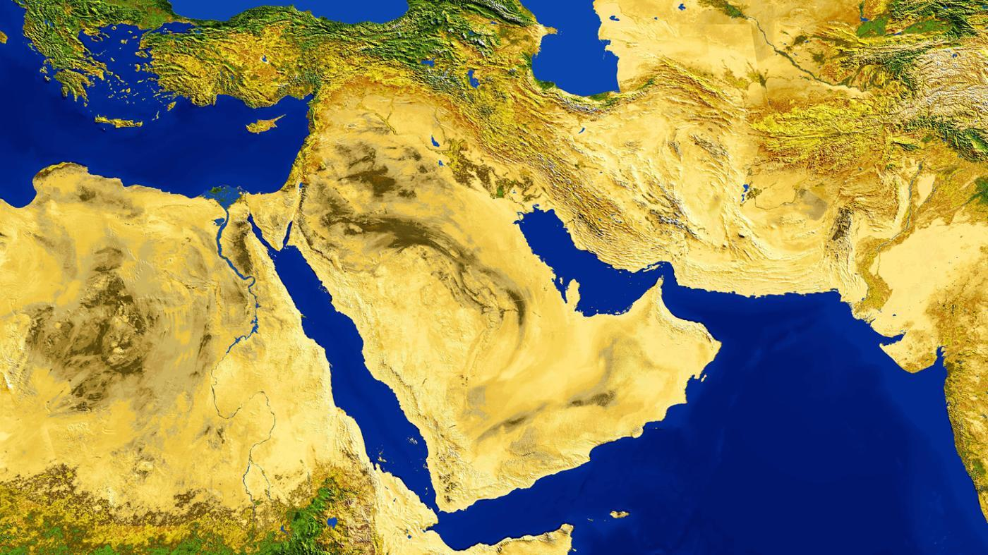 middle-east-located
