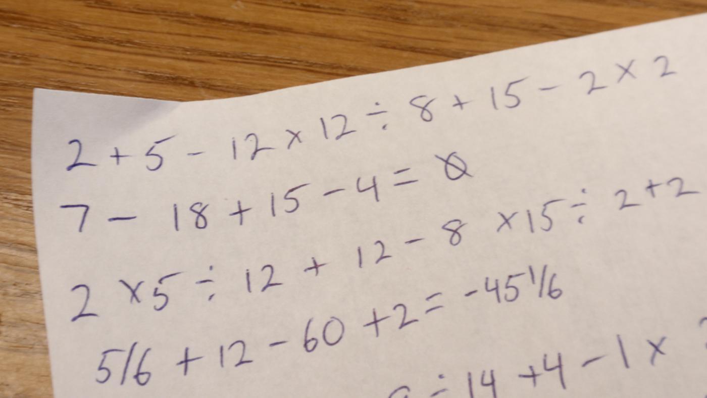 number-model-math