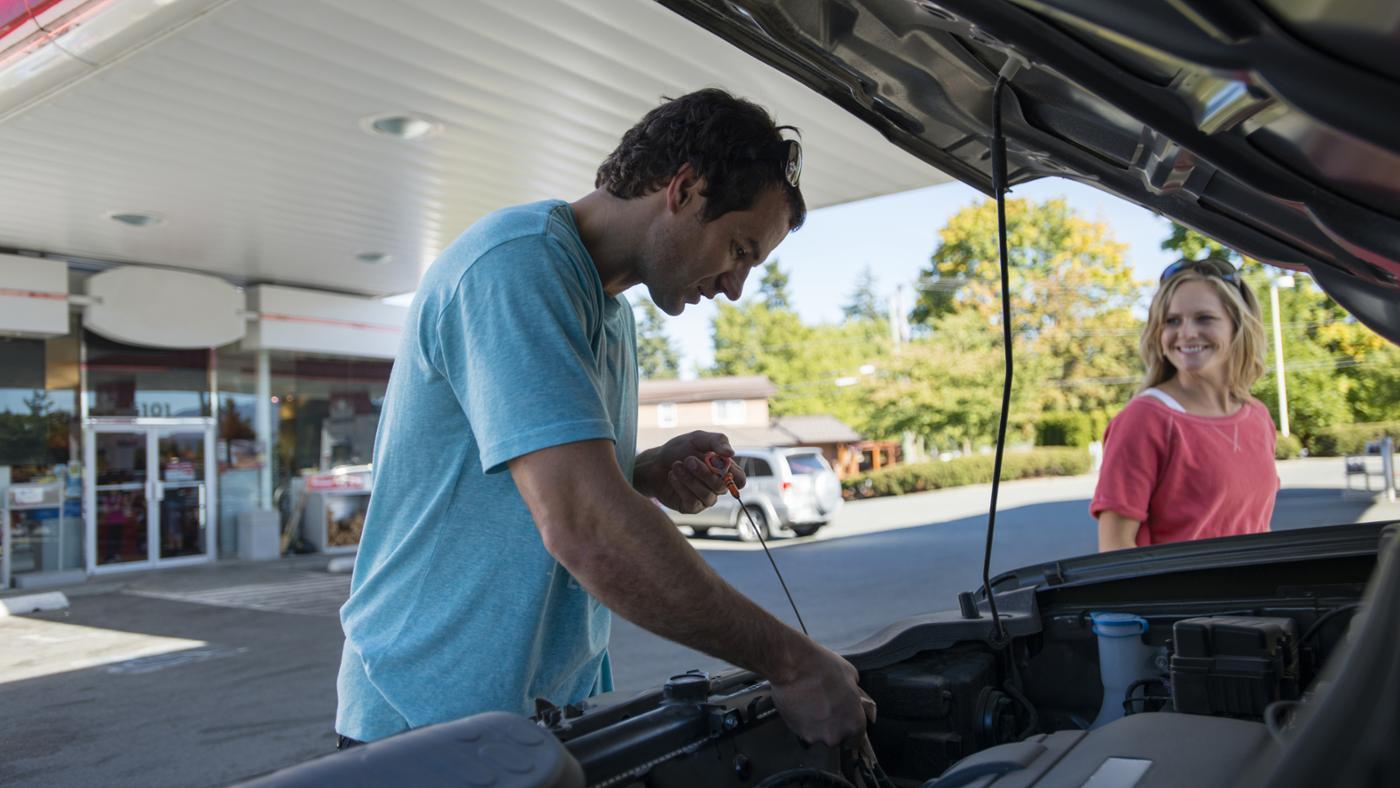 type-oil-put-car