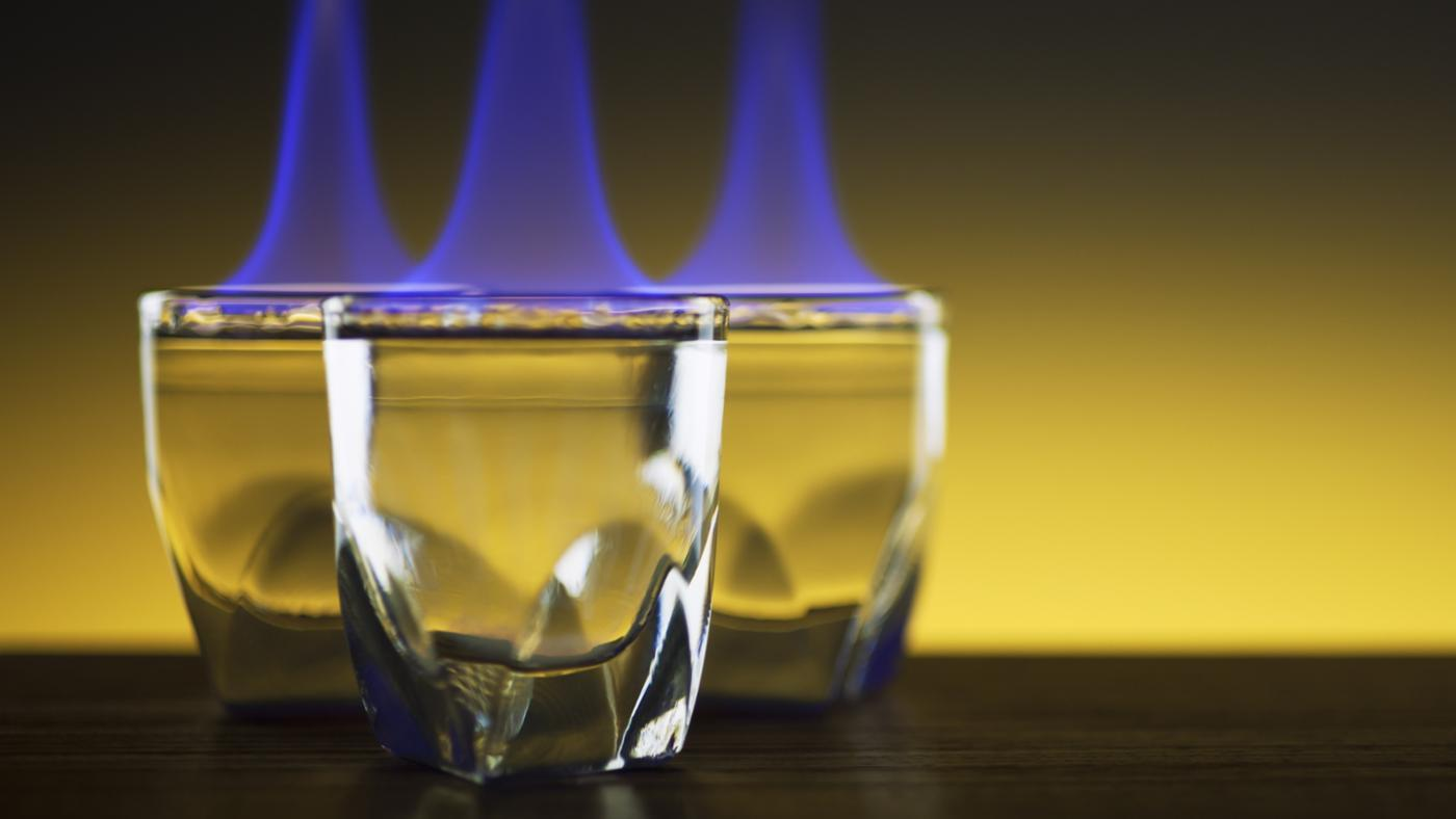 At What Proof Does Alcohol Burn?