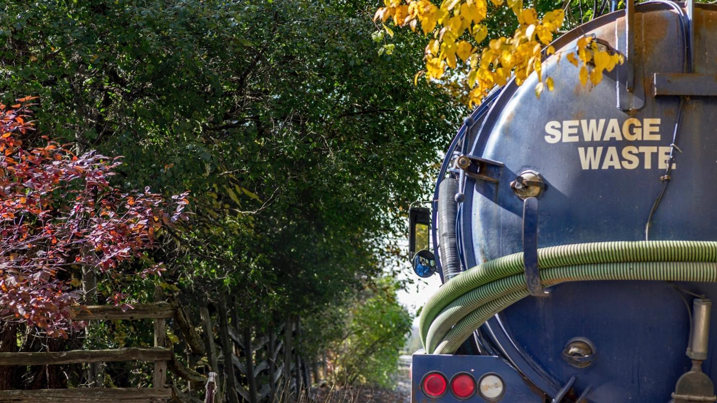 What Is a Basic Septic Tank System Layout?