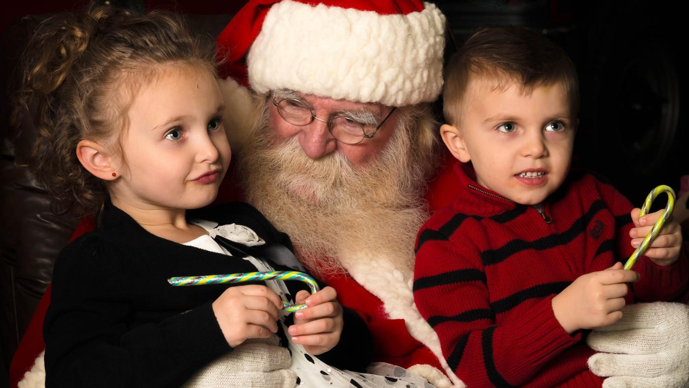 How Can a Child Talk to Santa Claus?