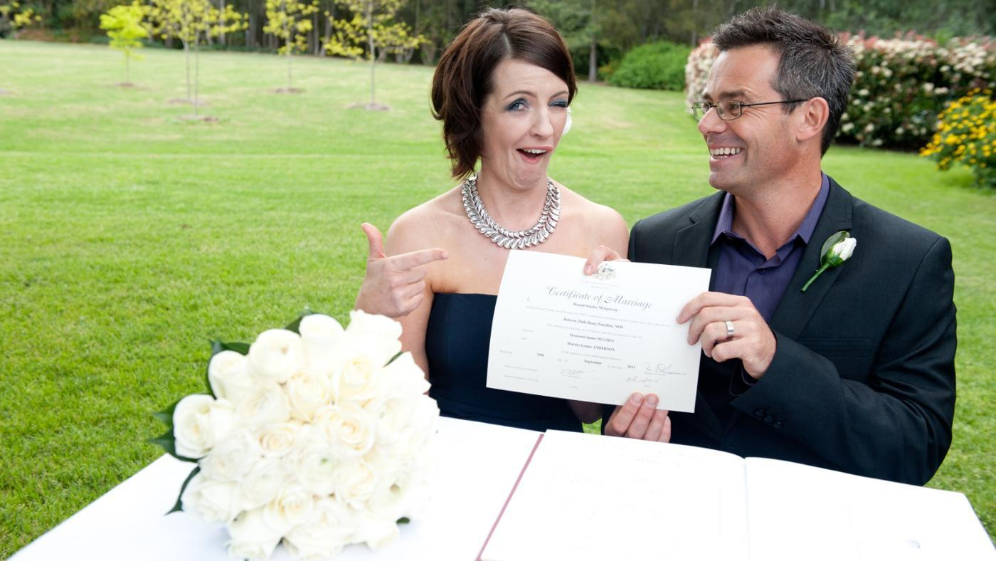 Where Can a Marriage Certificate Be Applied for Online?