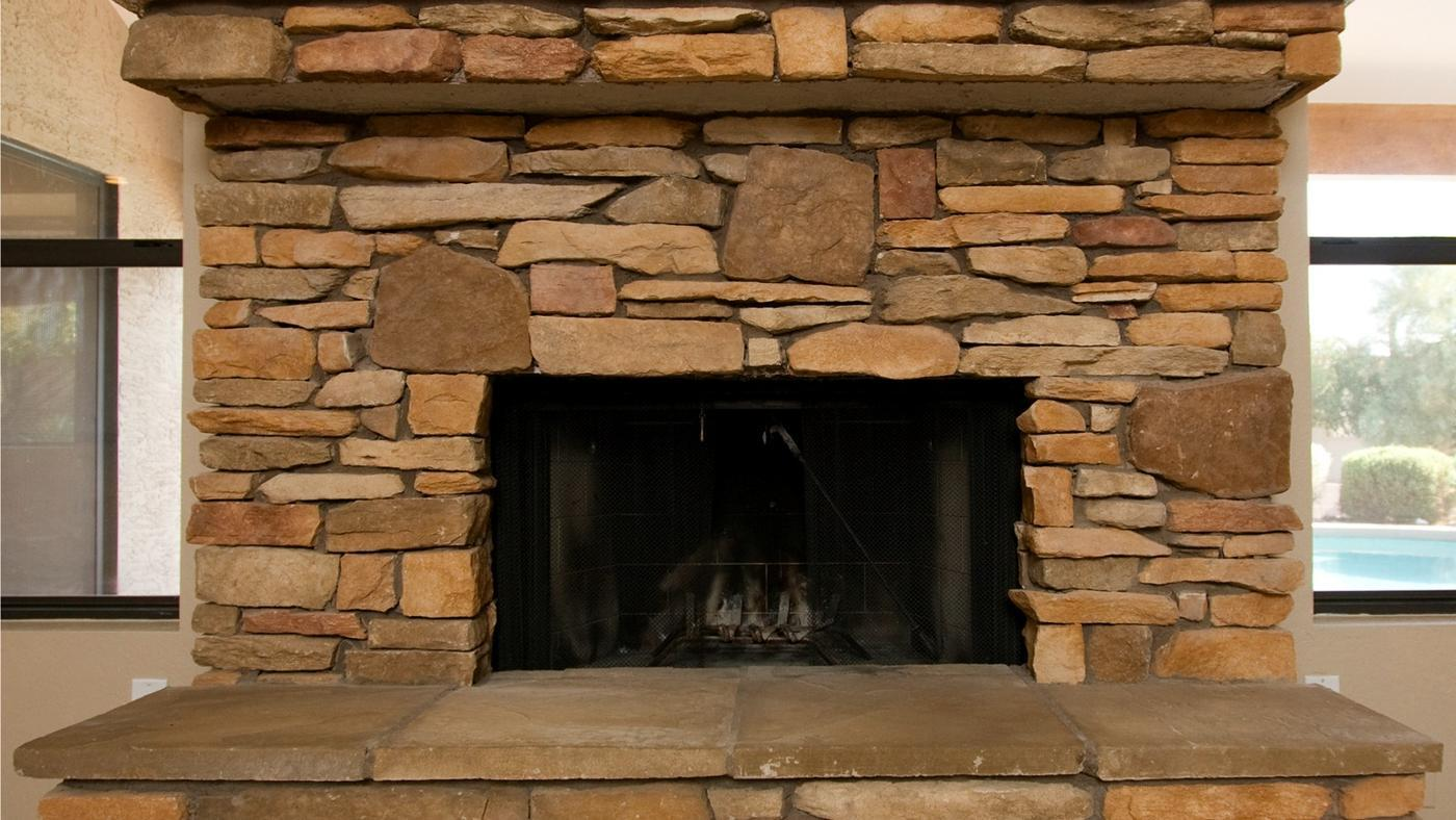 How Do You Clean a Sandstone Fireplace?