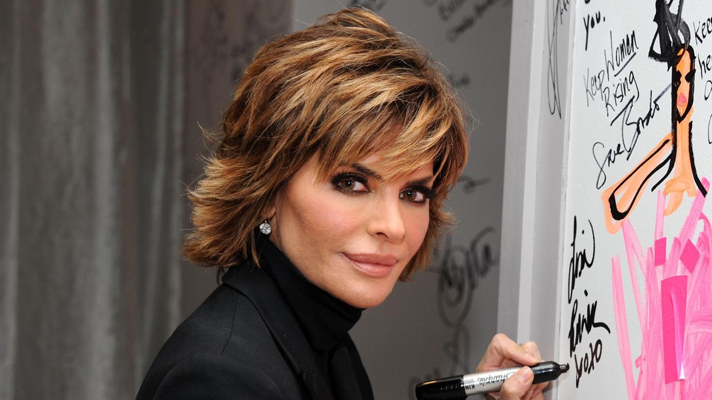 How Do You Cut Your Hair Like Lisa Rinna's?