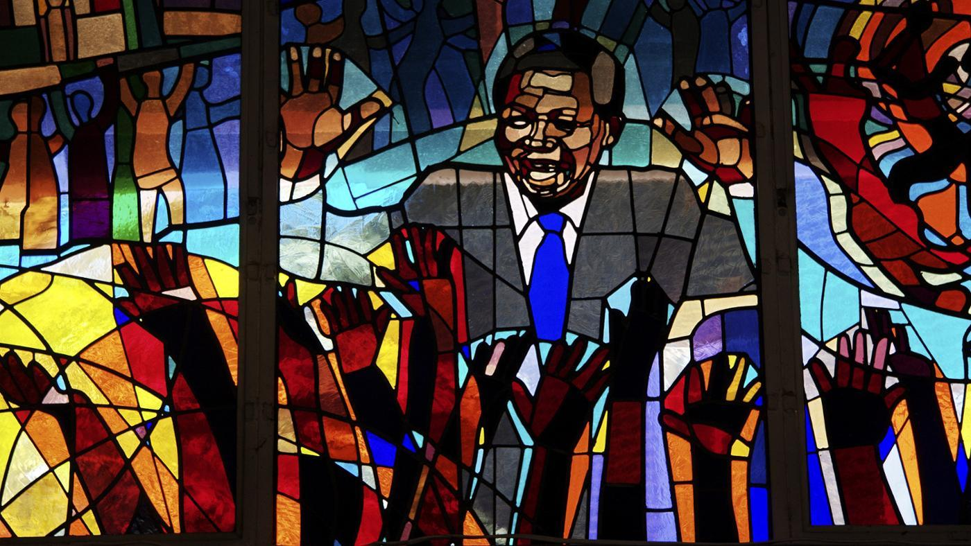 Where Did Nelson Mandela Grow Up?