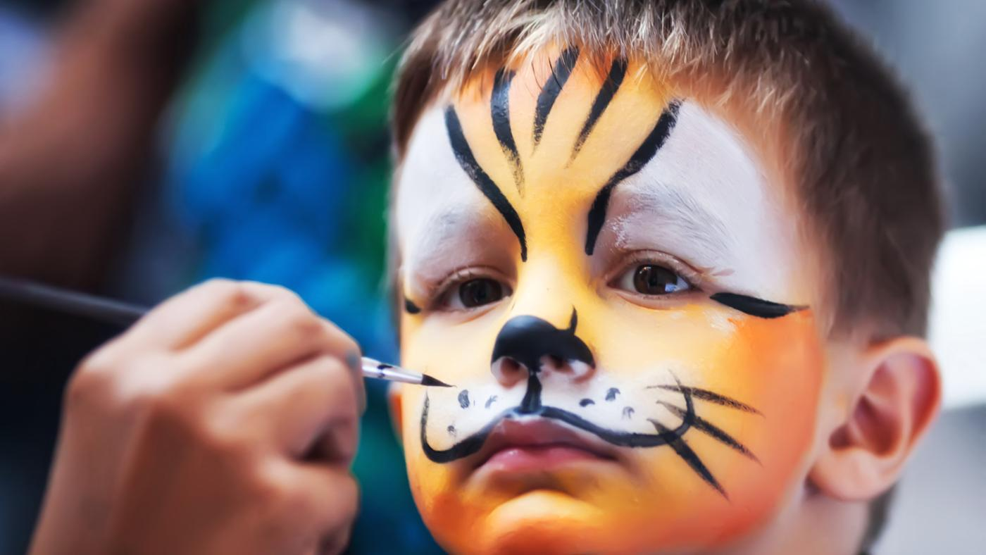 Where Can I Find Some Face Paint Examples?