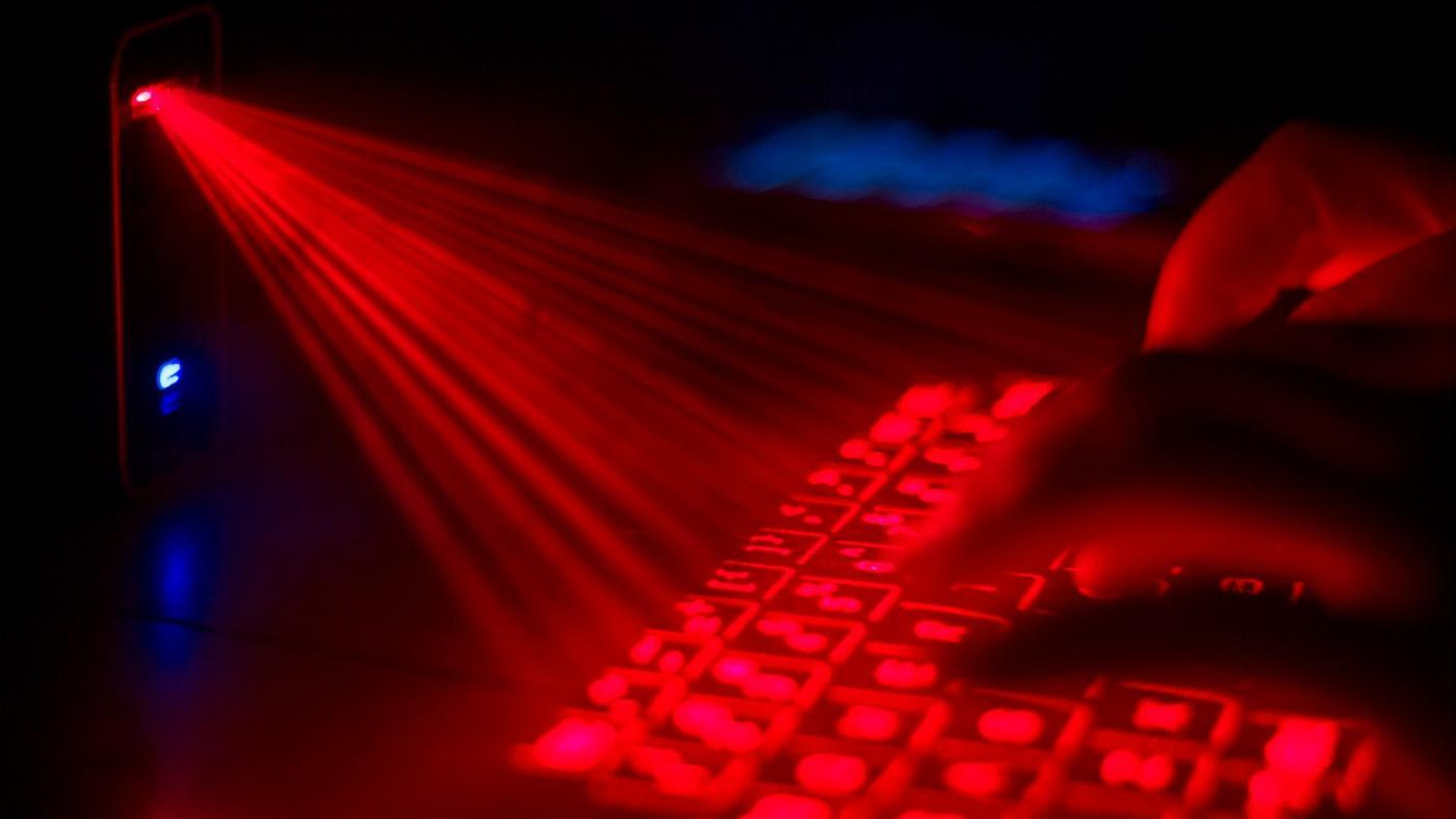 How Does the Laser Keyboard Work?