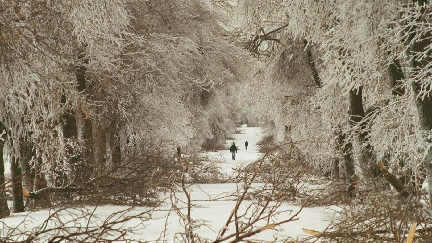 How Do Ice Storms Form?