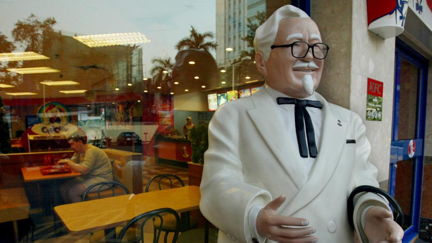 What Is the KFC Man's Name?