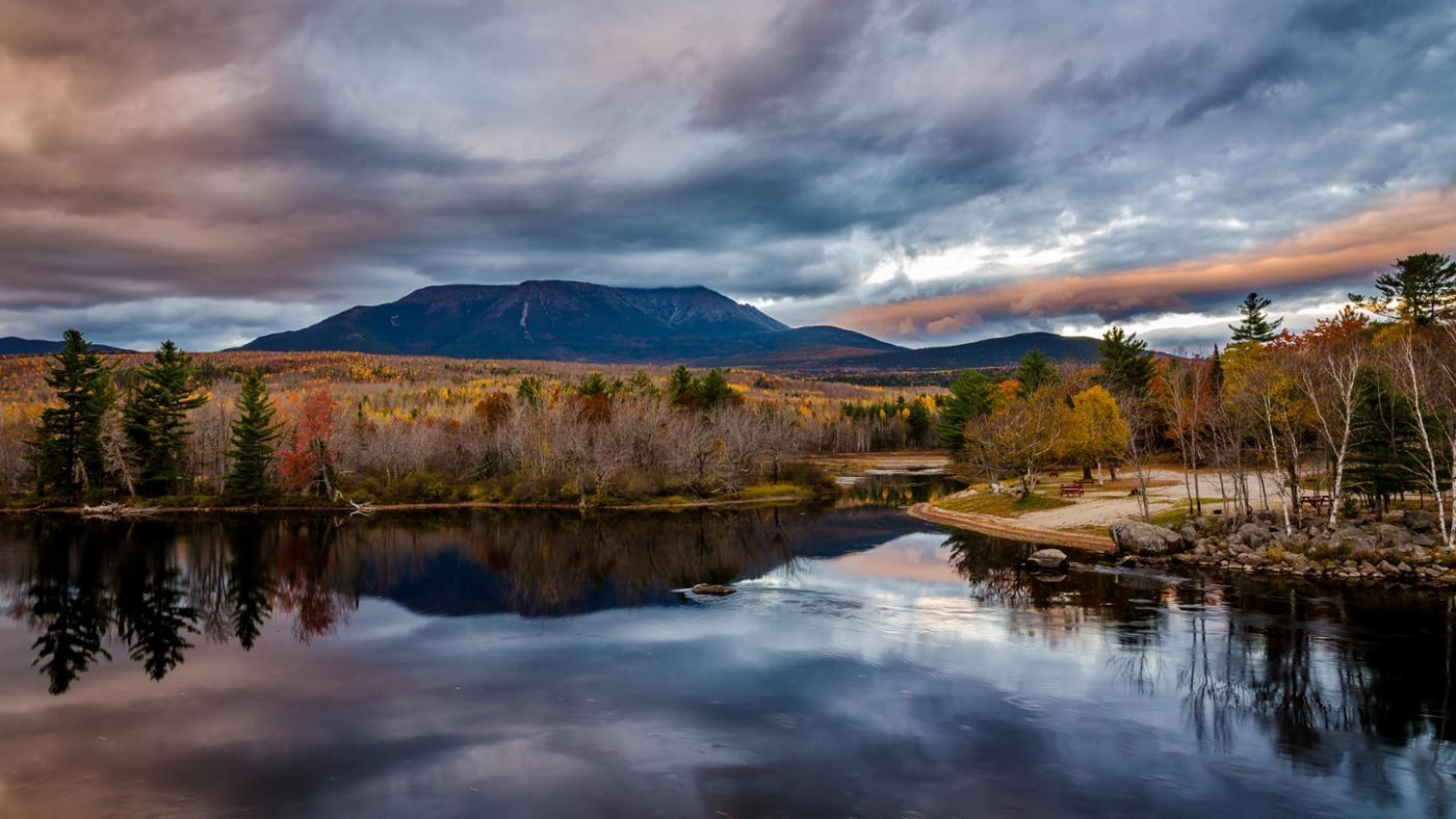 What Are Some Landforms in Maine?