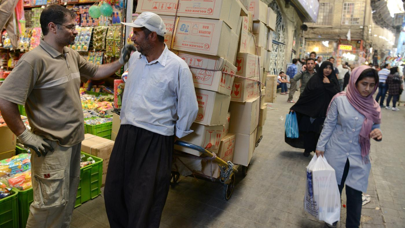 What Are the Major Imports and Exports in Iran?