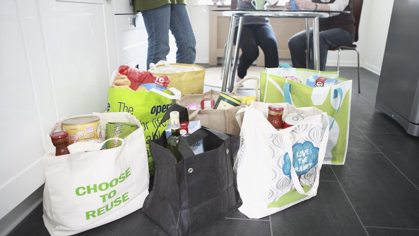 How Do You Make Reusable Grocery Bags?