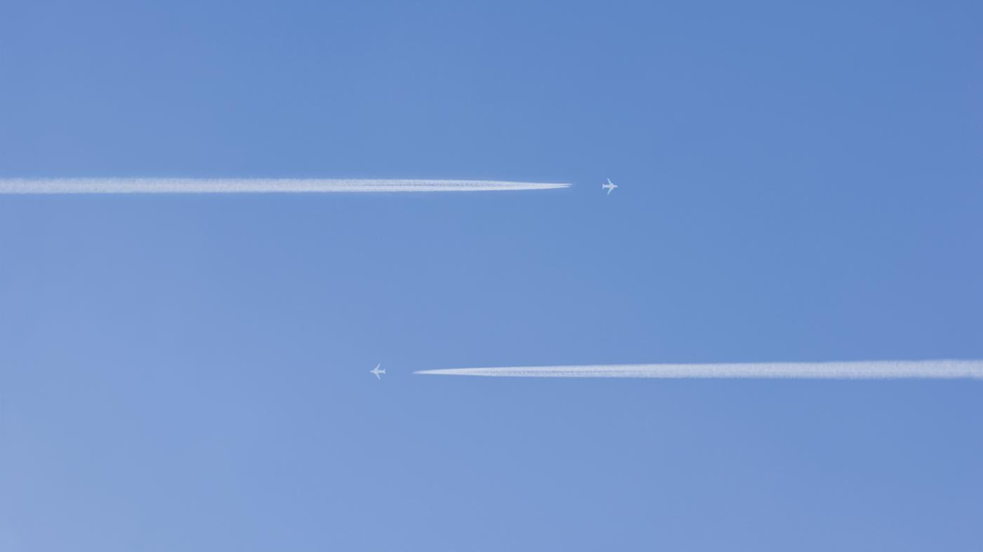 How Many Airplanes Are in the Air Right Now?