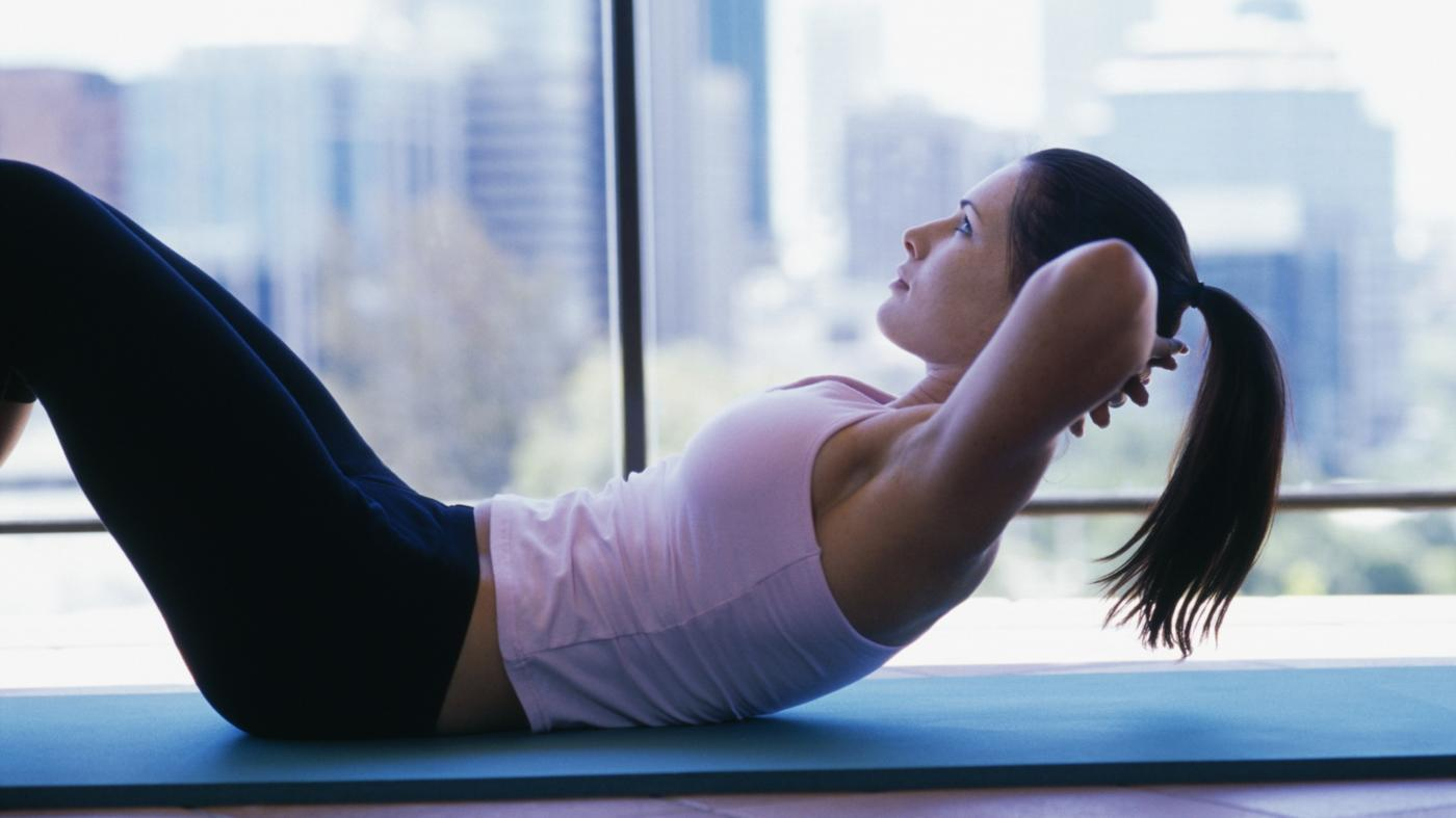 How Many Calories Do You Burn Doing 100 Crunches?