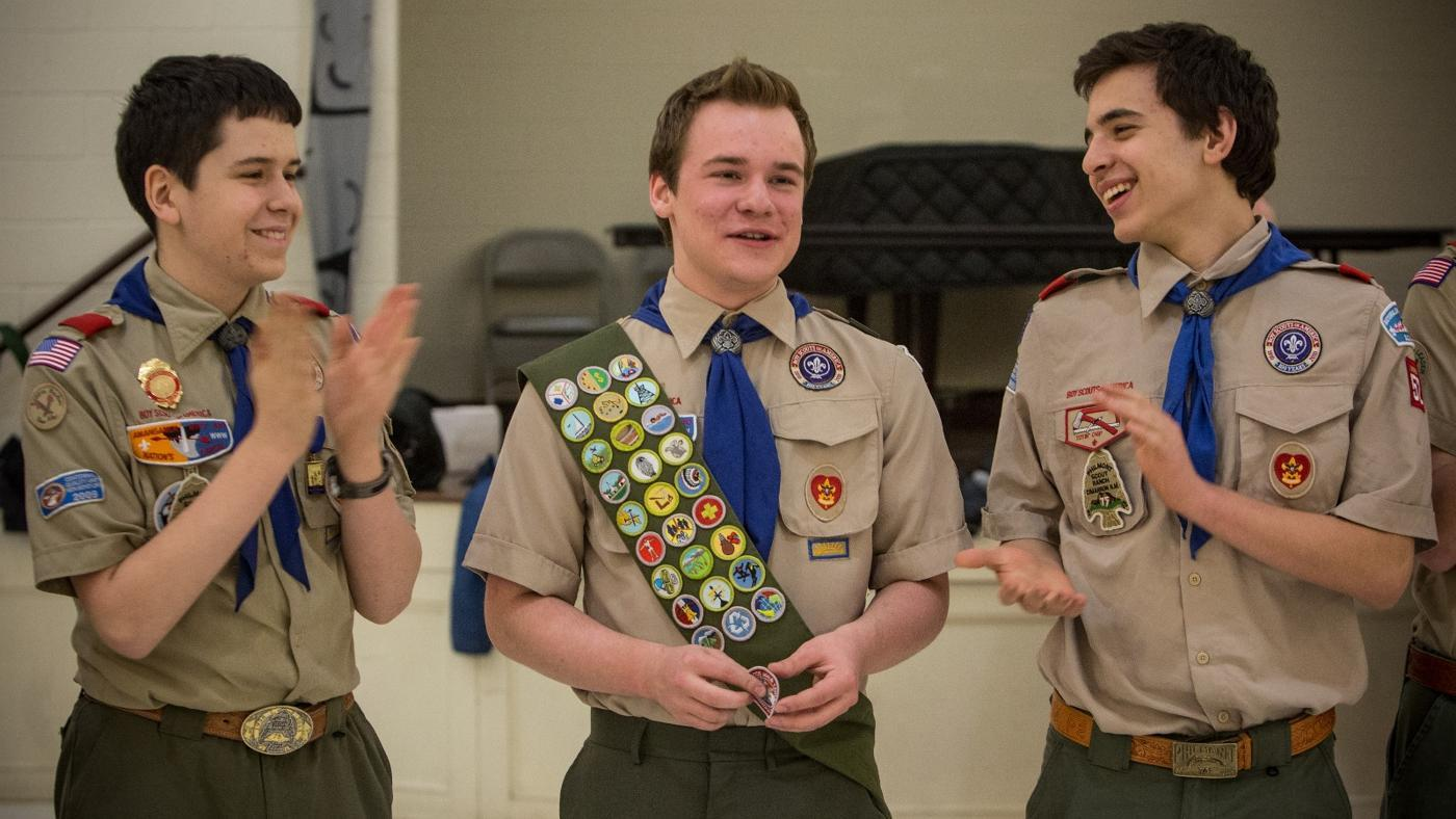 How Many Inches Down on a Boy Scout Sash Do You Place Your First Badge?
