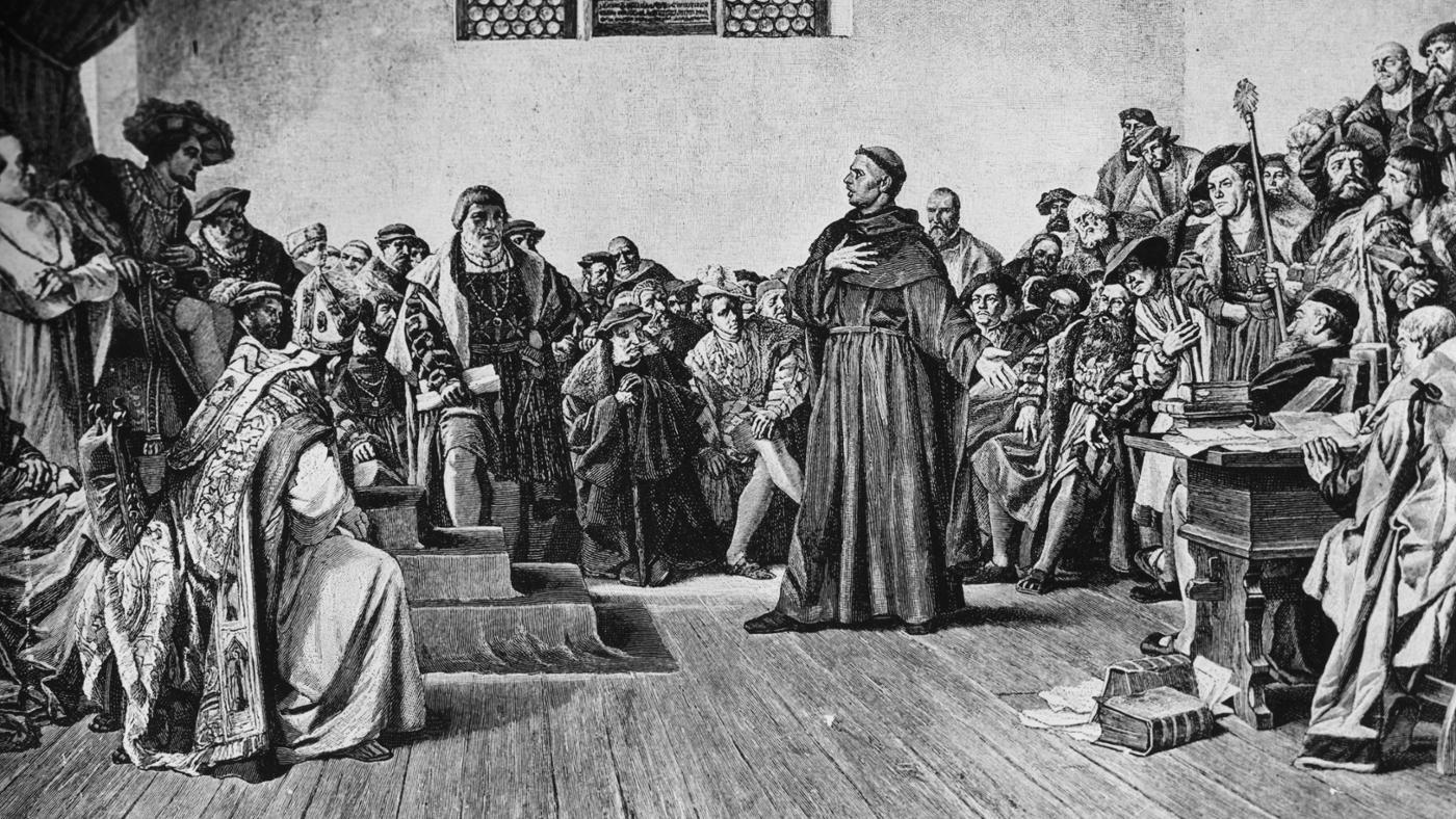 What Is Martin Luther Famous For?