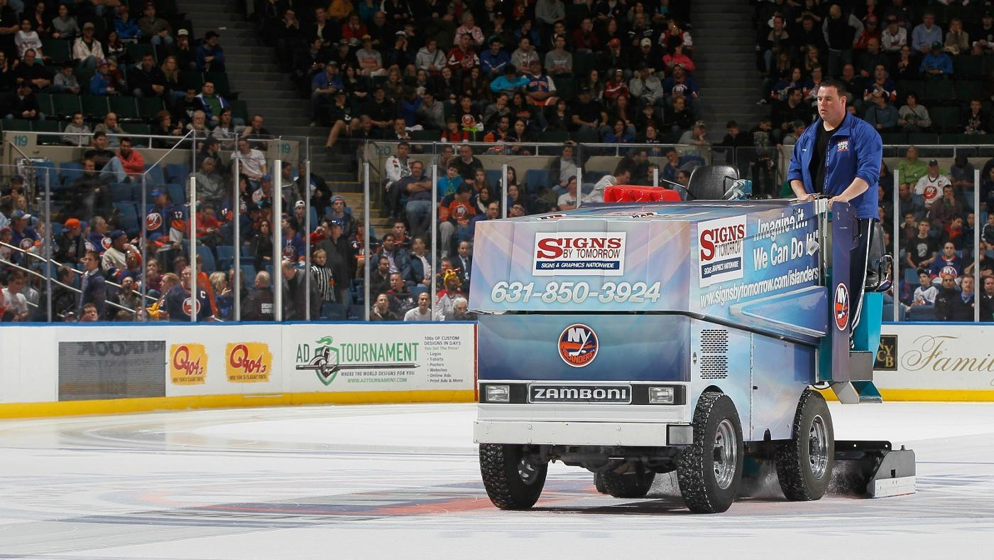 What Is the Name of the Machine That Cleans the Ice at Rinks?