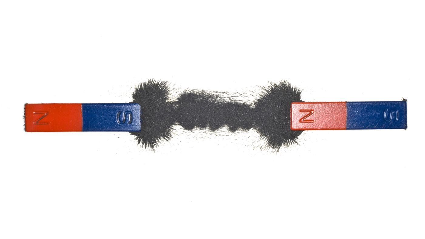 How Can I Determine the Positive and Negative Sides of a Magnet?