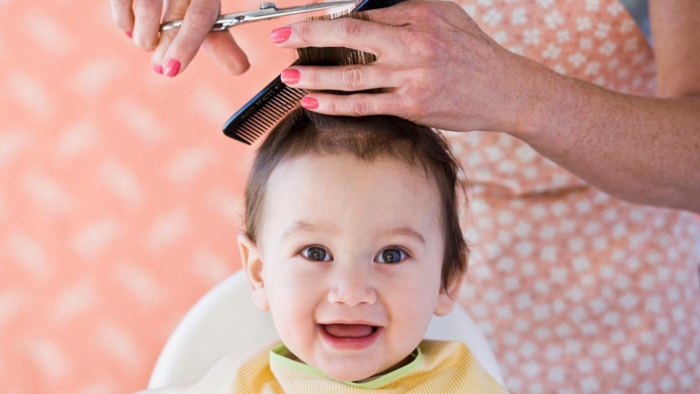 How Does One Give a First Haircut to a Baby?