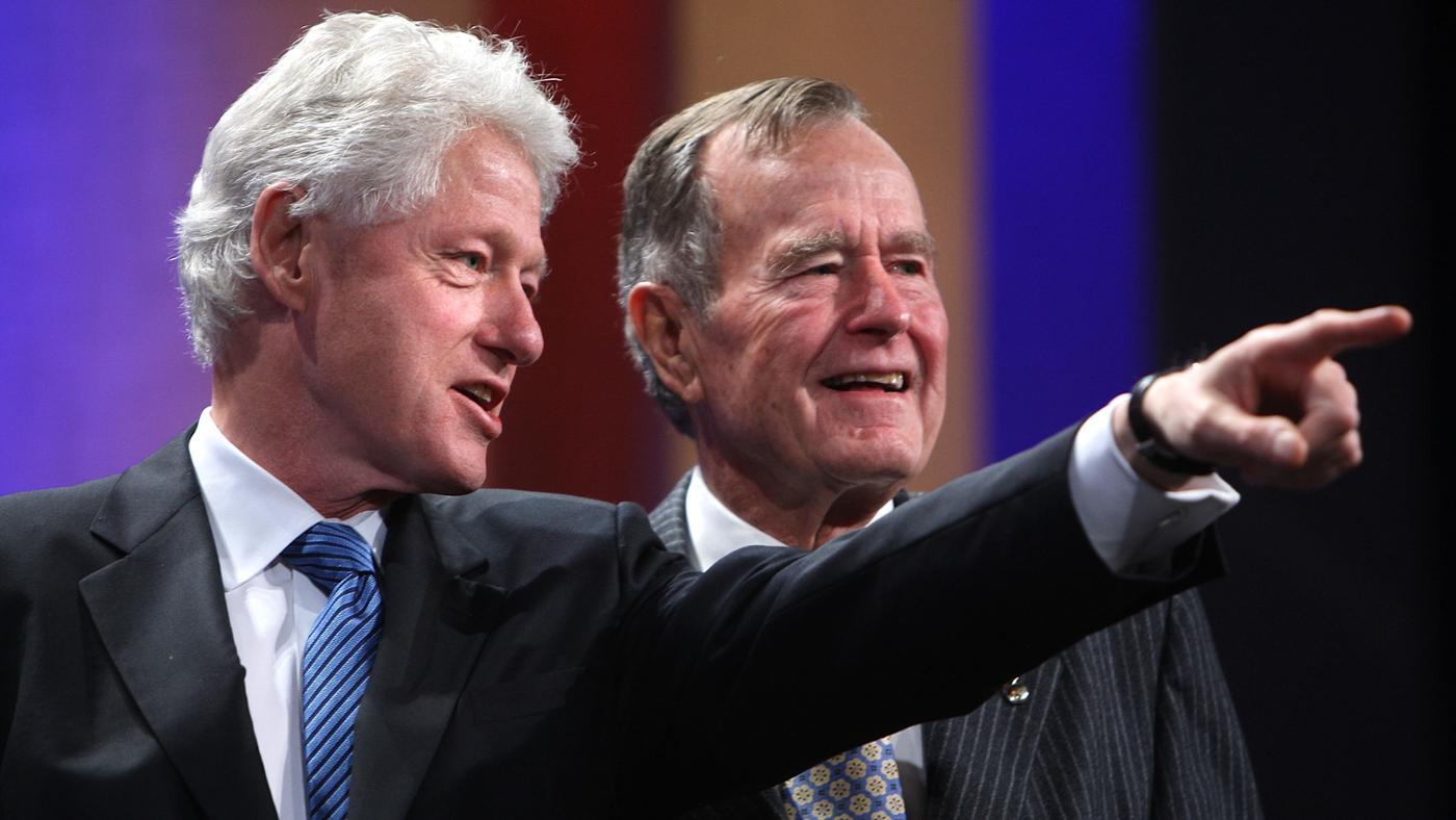 Who Ran Against Bill Clinton for President?