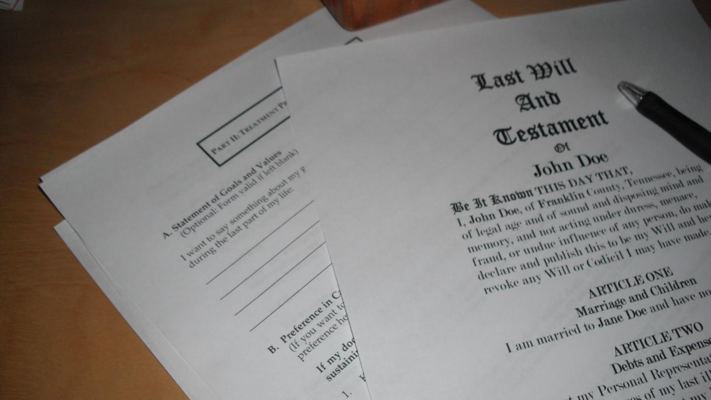 What Are My Rights As a Beneficiary of a Will?
